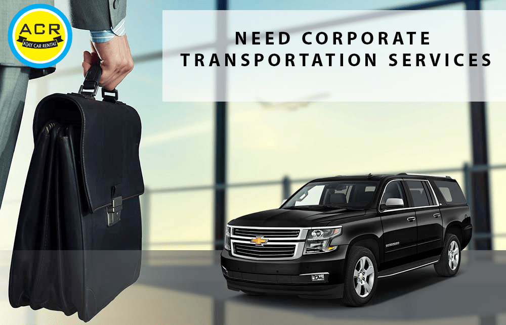 NEED CORPORATE TRANSPORTATION SERVICES